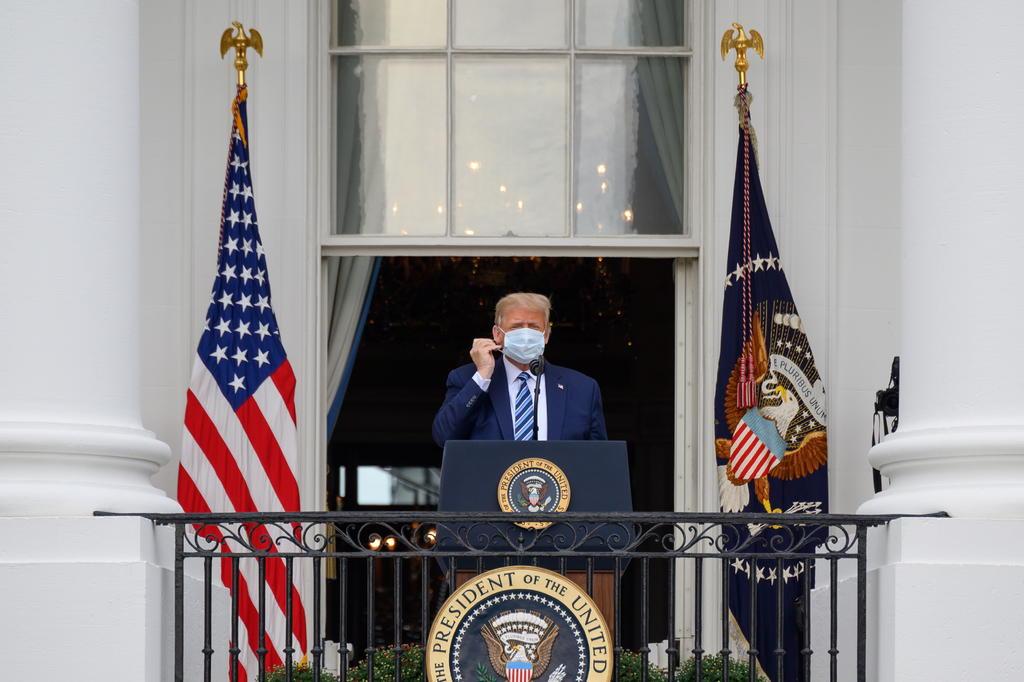 Tratamiento dado a Trump no es tan eficaz: OMS