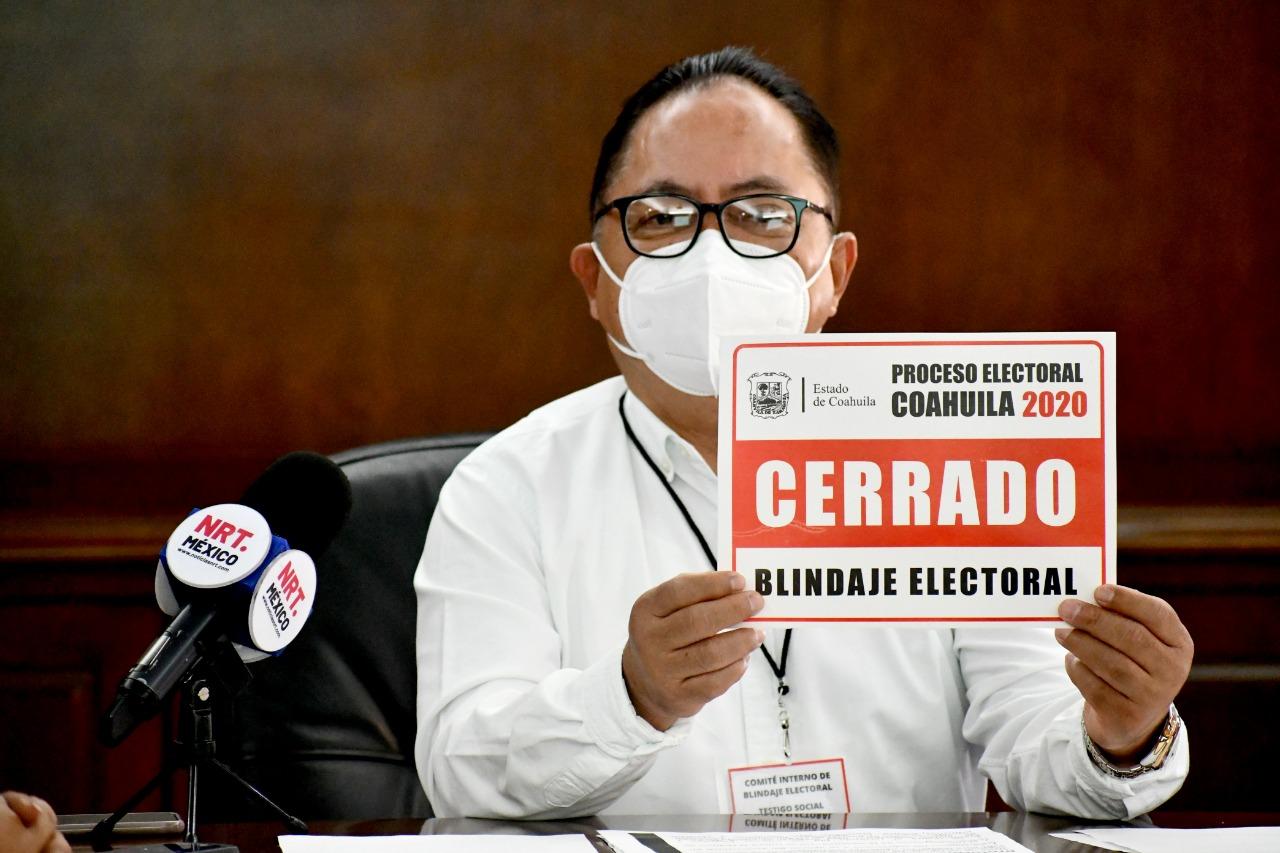 Conforman el comité interno para blindaje electoral en Monclova