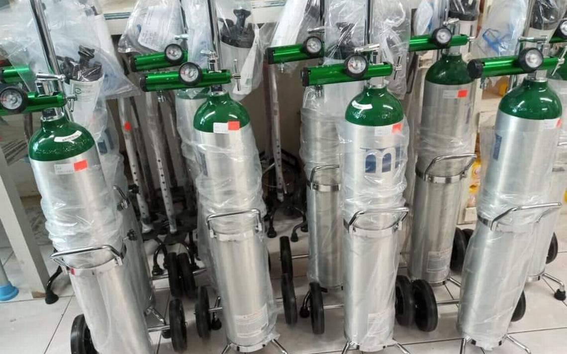 Denuncian desabasto de oxígeno para uso médico de pacientes con Covid-19