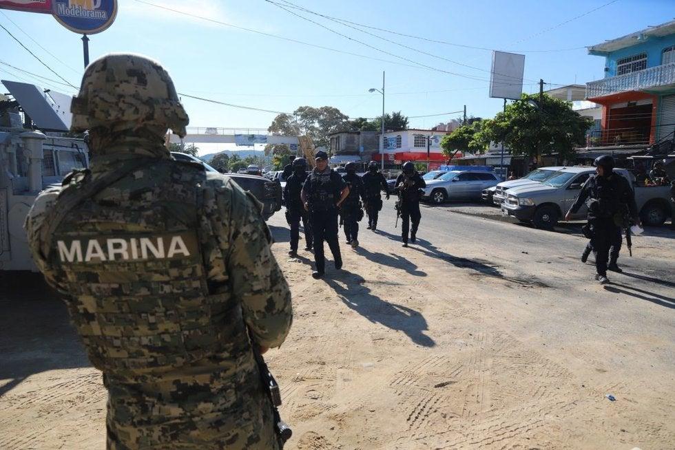 Operativo contra Patrón Sánchez