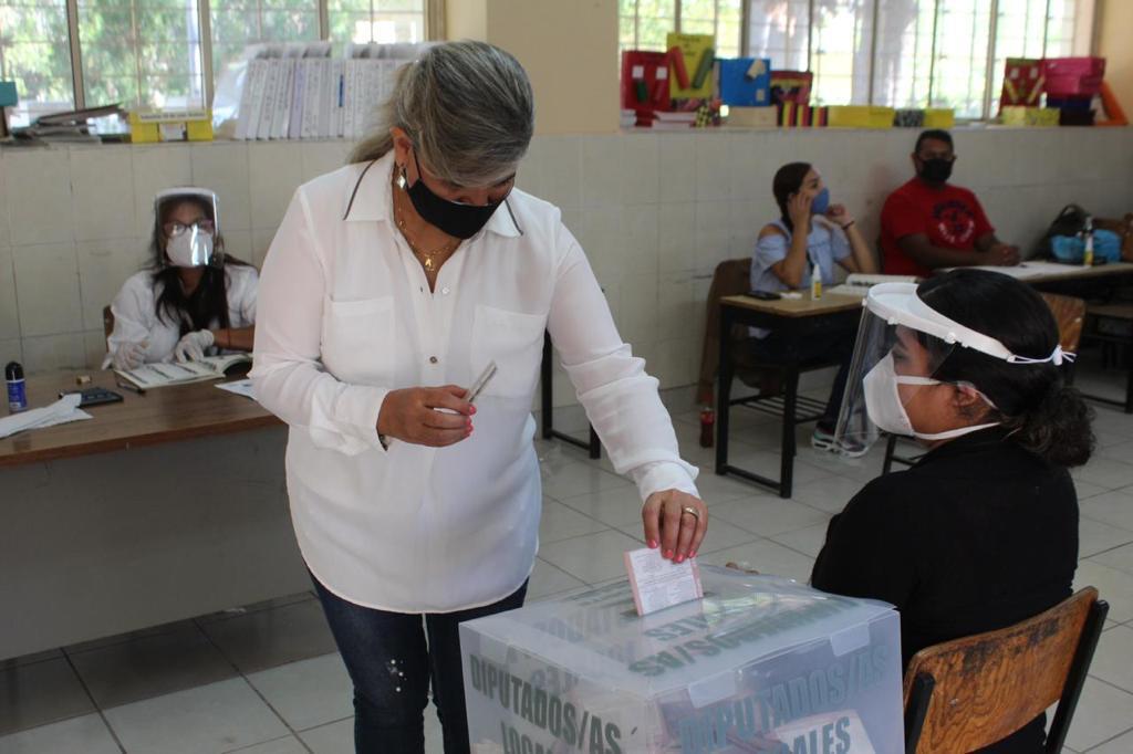 La alcaldesa Gladys Ayala pide a Sanbonenses hagan valer su derecho al voto