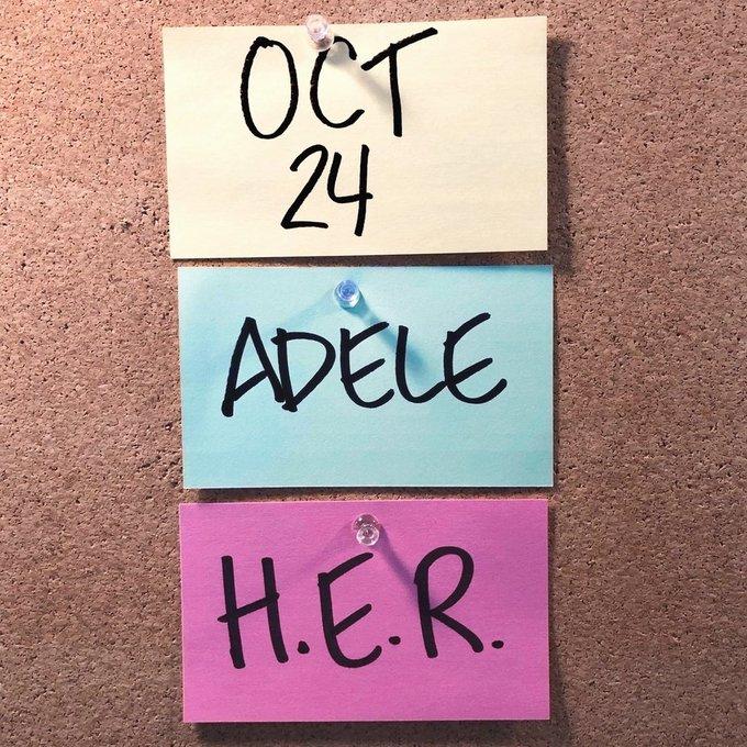 Anuncia en redes sociales su regreso y lo hará en TV: Adele