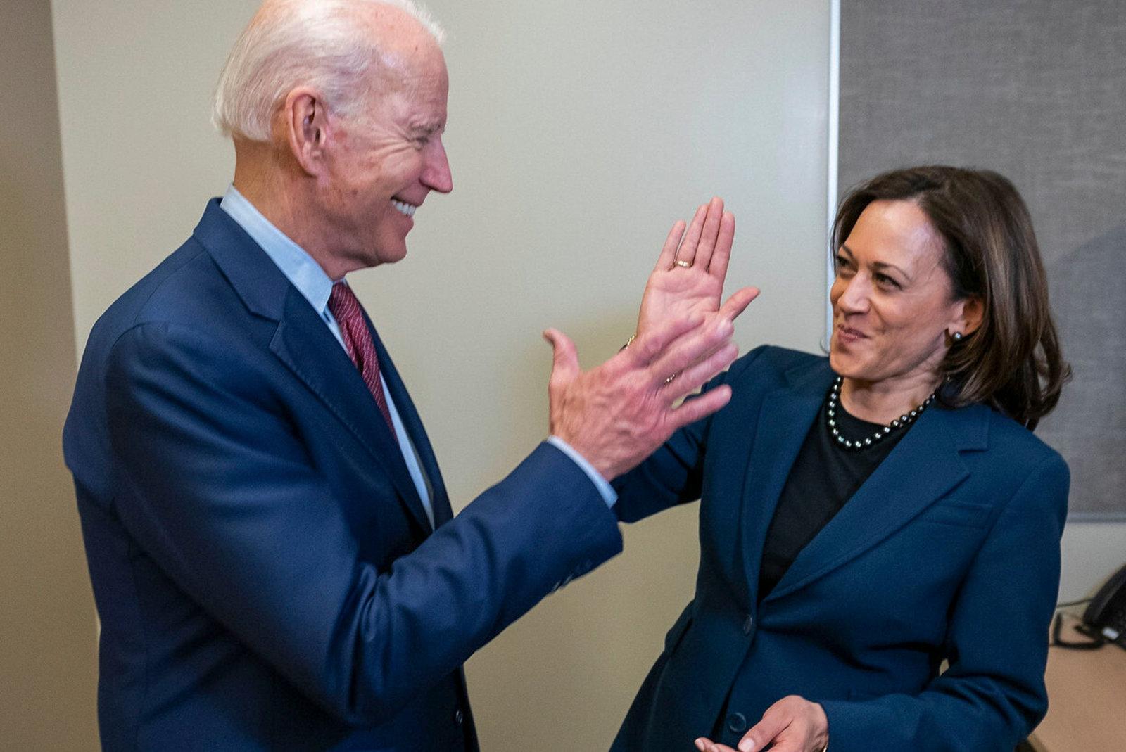 '¡Lo hemos conseguido, Joe!', así celebró Kamala Harris el triunfo de Biden