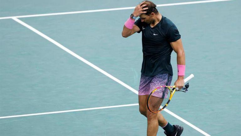 Nadal perdió la semifinal