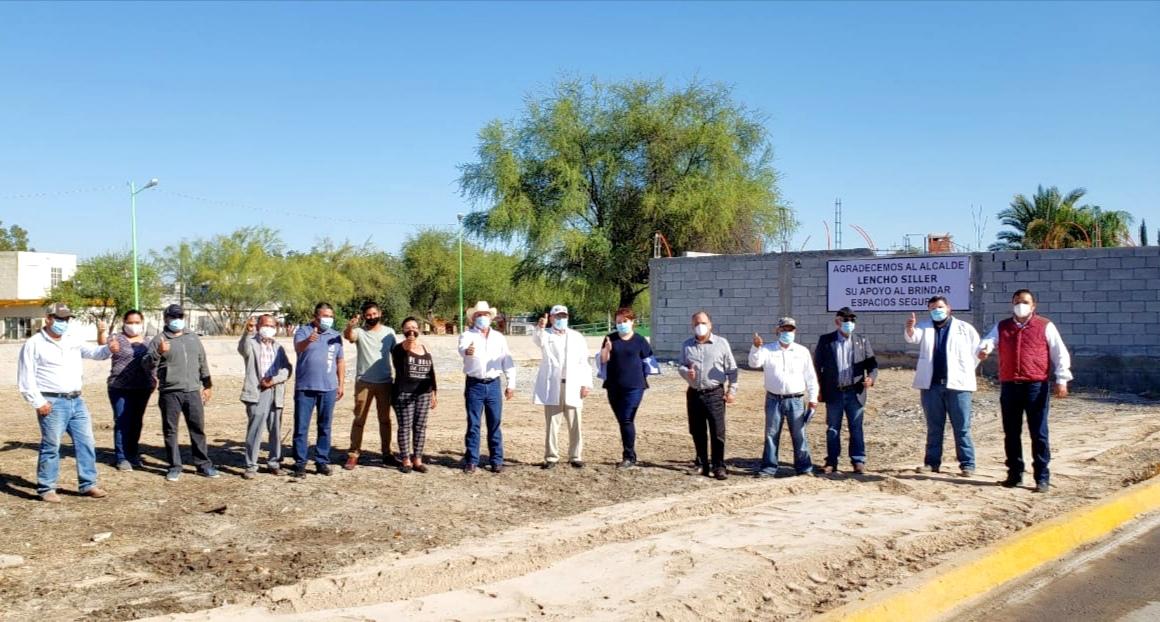 Continúa el programa de limpieza sobre el arroyo en Frontera