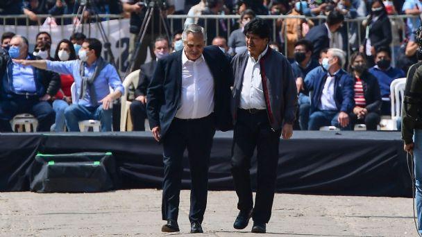 Evo Morales cierra su exilio de un año: 'Parte de mi vida queda en Argentina'