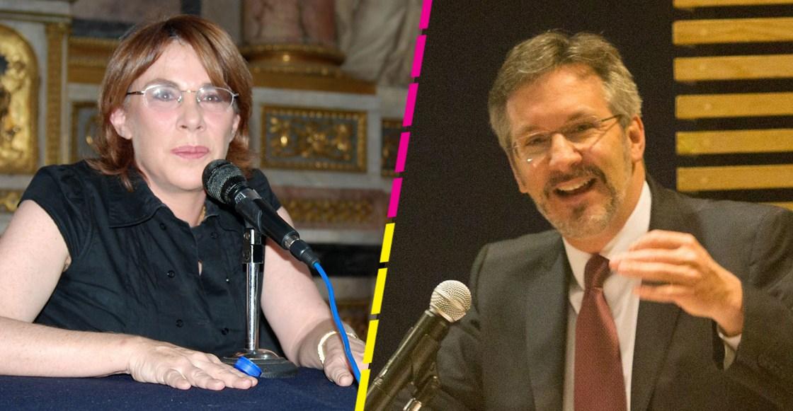 Sabina Berman le pide a John Ackerman que pare el acoso