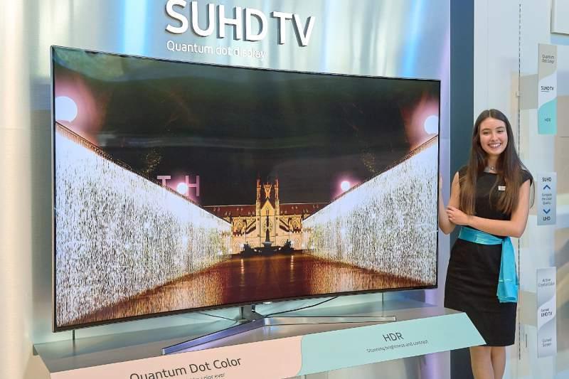 Se consolida Samsung como líder en pantallas