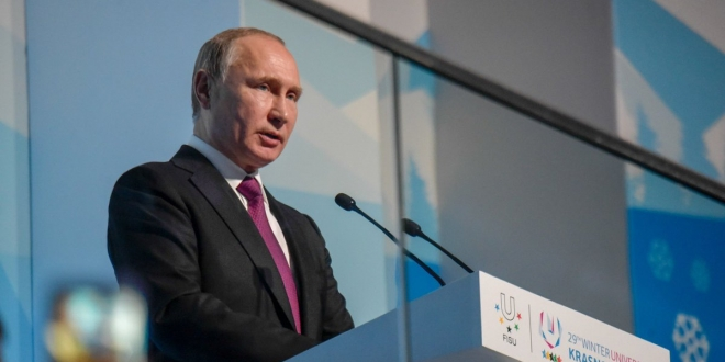 Rusia propone a EU una nueva 'ecuación de seguridad', según Putin