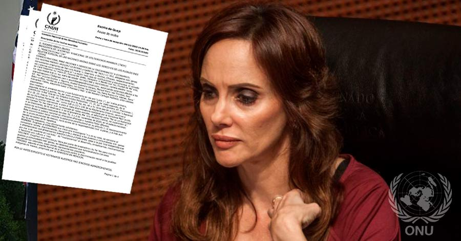 Denuncian a Lilly Téllez ante CNDH
