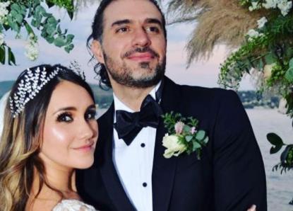 FOTOS: Así celebró Dulce María su primer aniversario de bodas
