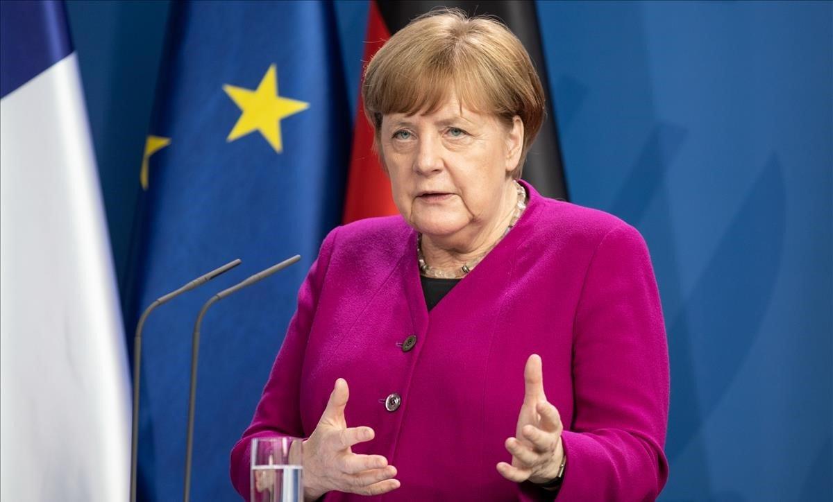 Merkel le ofrece 'apoyo activo' a Arce para superar la pandemia