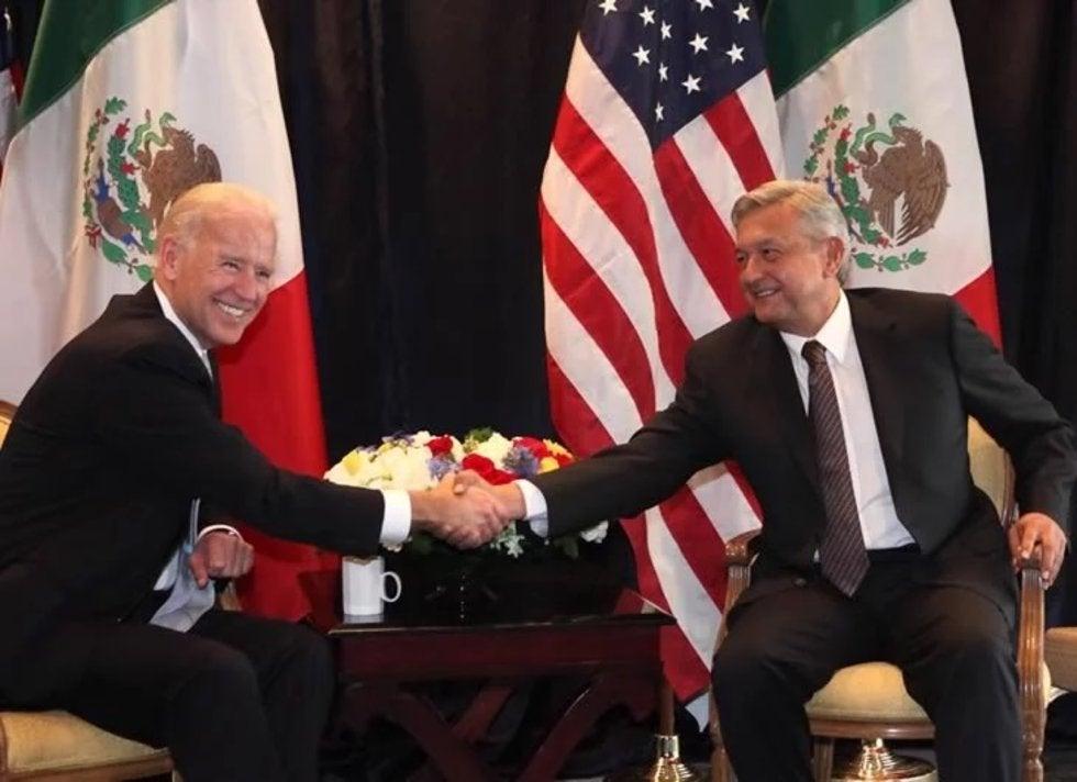 SRE: Rechaza contacto de AMLO y Biden