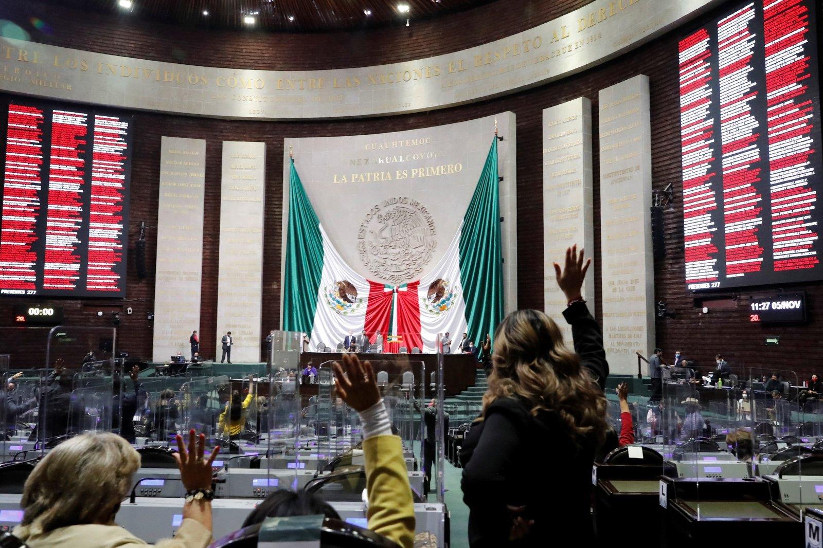 Cámara de Diputados aprueba un austero presupuesto para 2021