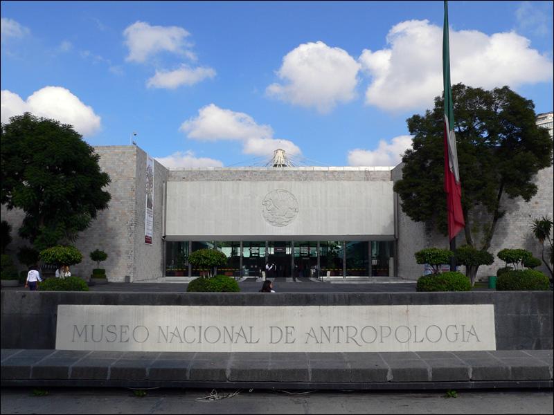Anuncian reapertura del Museo Nacional de Antropología