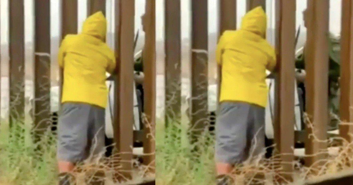 VIDEO VIRAL: Agente fronterizo de EU compra tamales a mexicano en la frontera