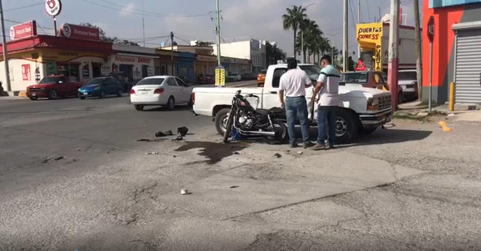 Atropellan a motociclista y muere en Monclova