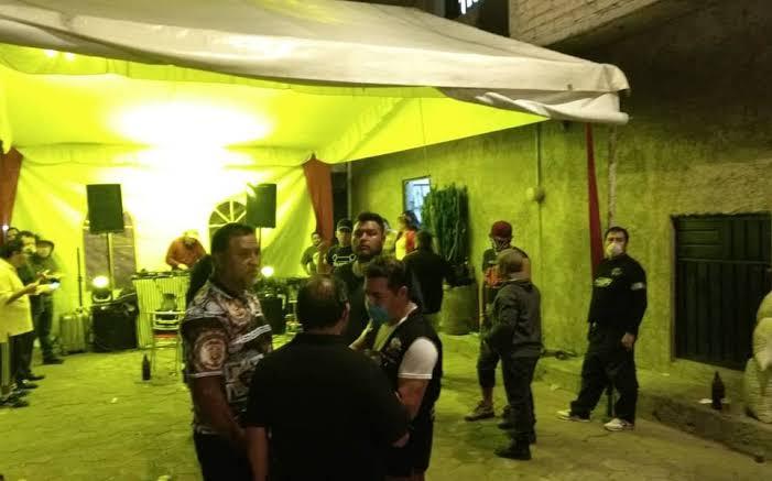 Fiestas particulares en San Buenaventura, sólo para 15 invitados