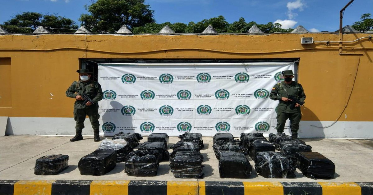 Las autoridades incautan 100 kilogramos de cocaína en El Salvador