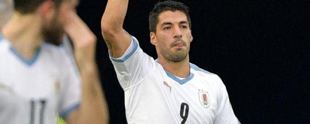 Uruguay goleo a Colombia