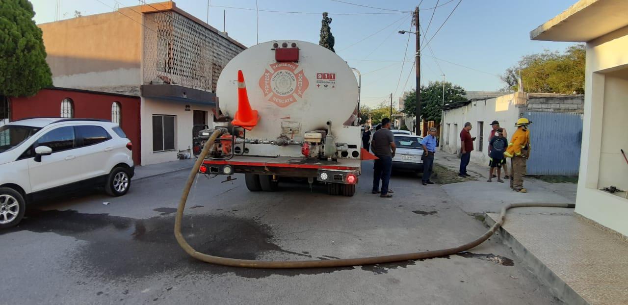 Fuga de gas causa pánico en la colonia Guadalupe de Monclova