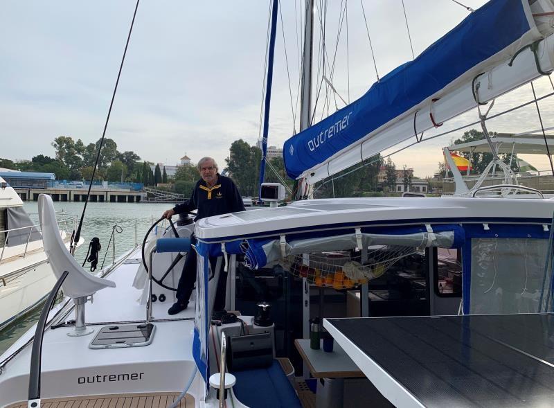 Capitán de 80 años comenzará la primera navegación en un barco ecológico
