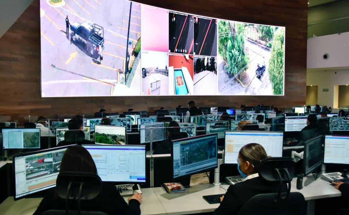 Despliegan drones para vigilar zonas comerciales