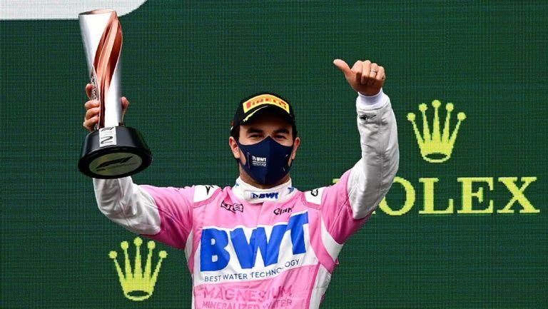Checo Pérez consiguió su noveno podio en F1