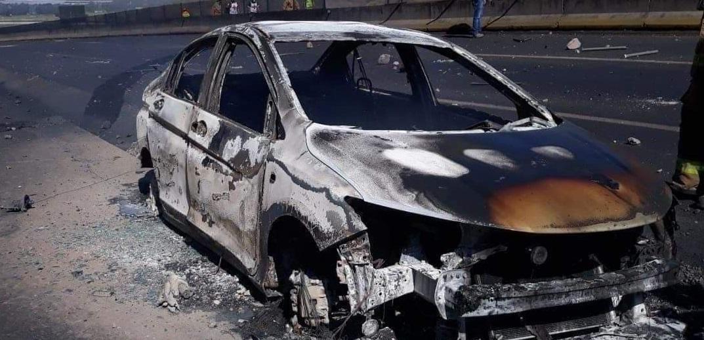 VIDEO: Captan explosión de pipa en la autopista Tepic-Guadalajara
