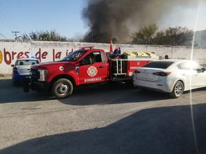 Travesura de niños causa fuerte incendio en Frontera