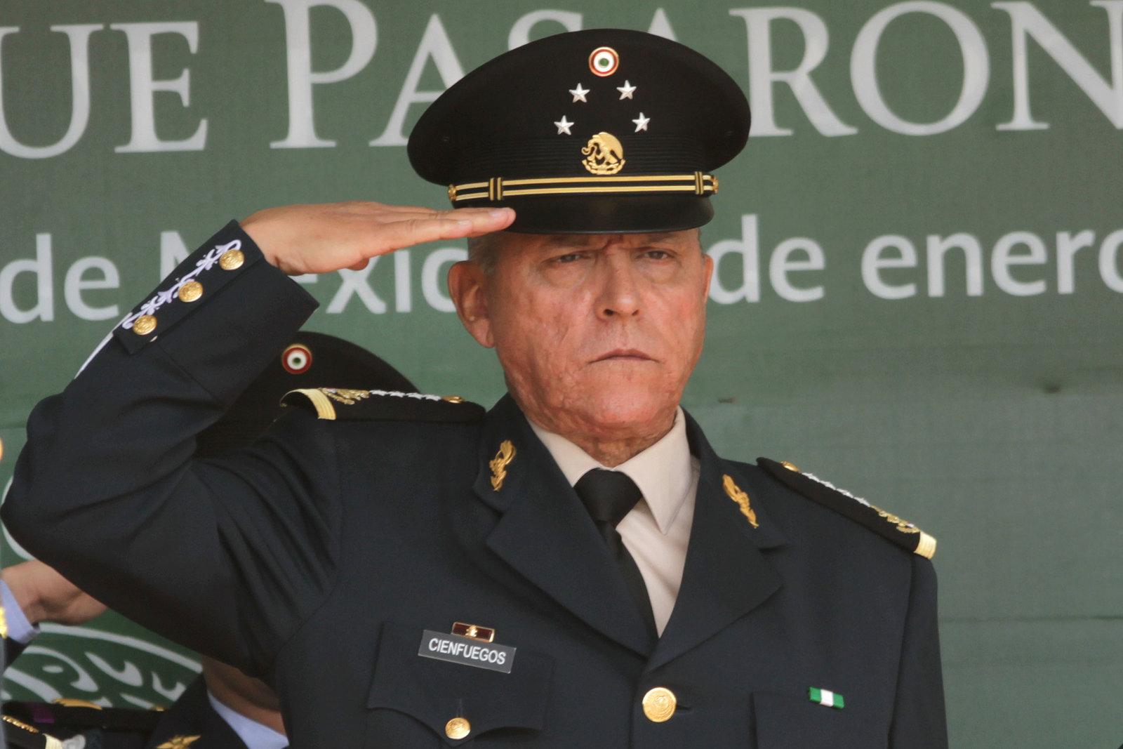 Fiscal de EU pide mantener reservado parte del juicio contra Salvador Cienfuegos