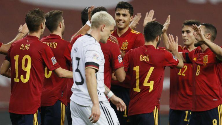 España propinó histórica goleada a Alemania