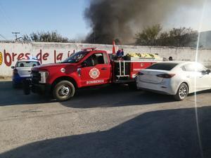 Buscan a menores  que incendiaron un lote baldío en Frontera