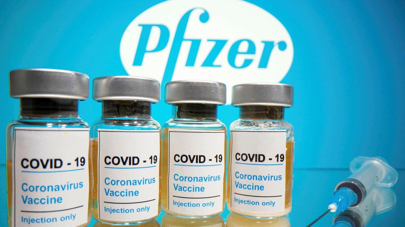 Pfizer eleva la efectividad de su vacuna contra el COVID-19 a un 95%