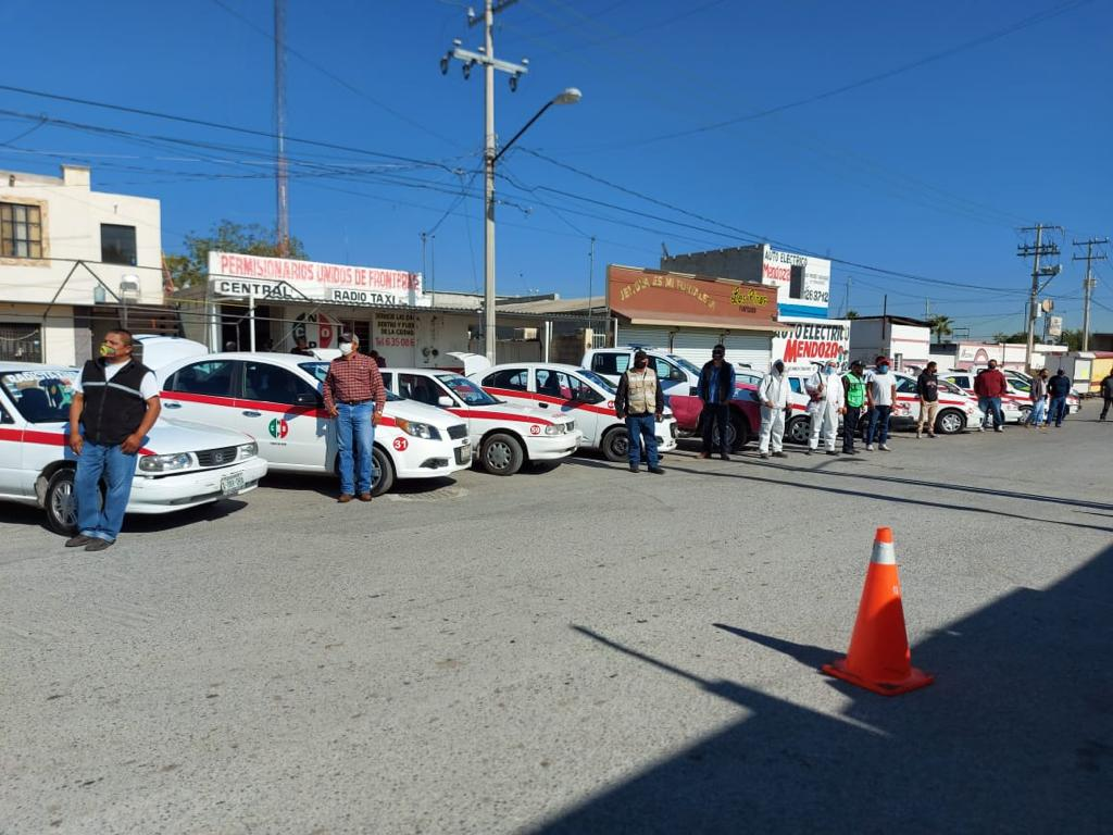 ESPECIAL: Taxistas, daño colateral de la pandemia de COVID-19 en Monclova