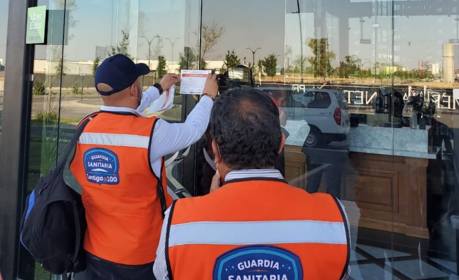 Clausuran tiendas por incumplir medidas sanitarias en Aguascalientes