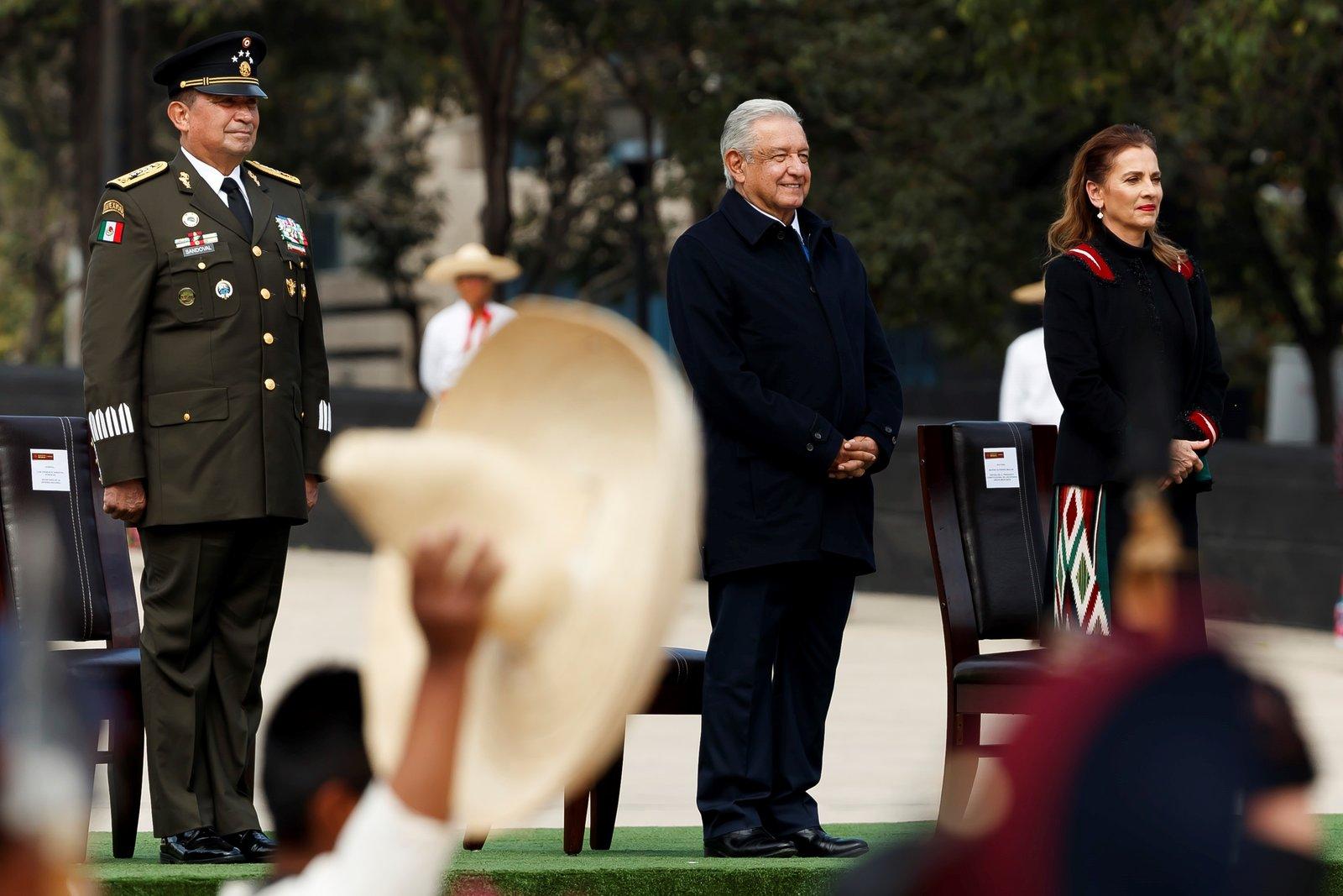 FOTOS: Así fue el aniversario 110 de la Revolución Mexicana