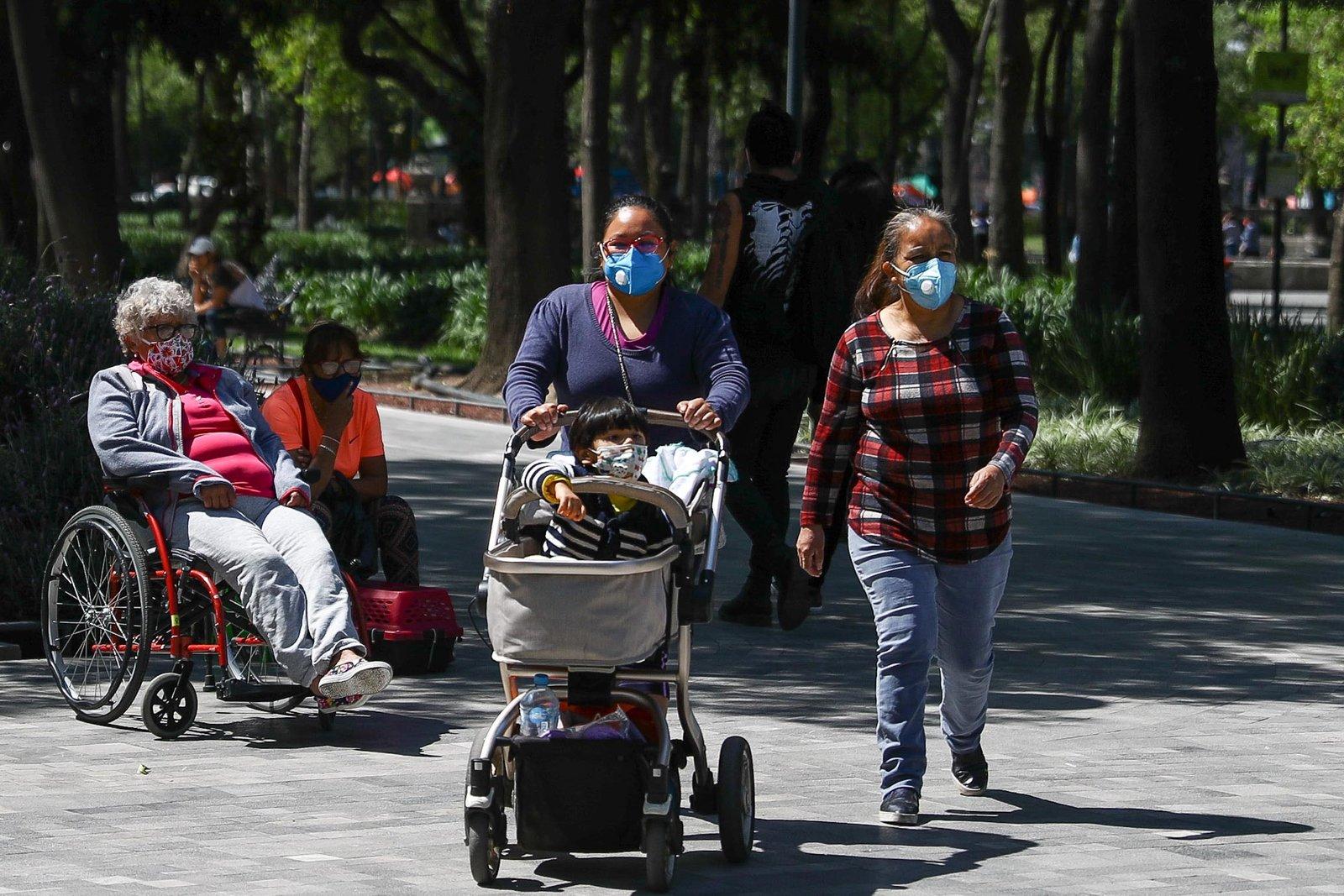 Suman 100,823 los decesos por COVID-19 en México