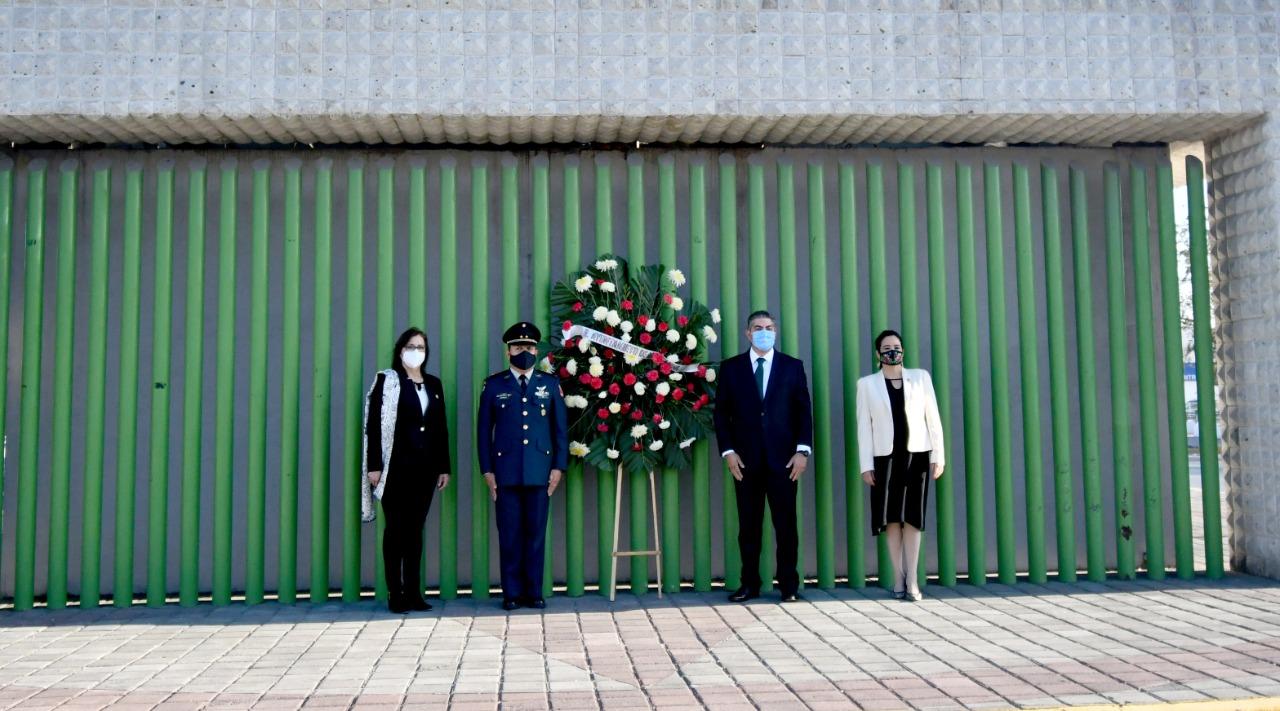 Conmemoran las autoridades el101 aniversario de la Revolución
