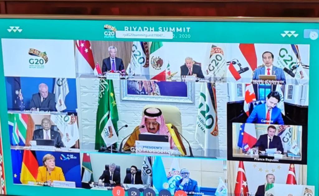Participa AMLO, de manera virtual, en Cumbre del G20
