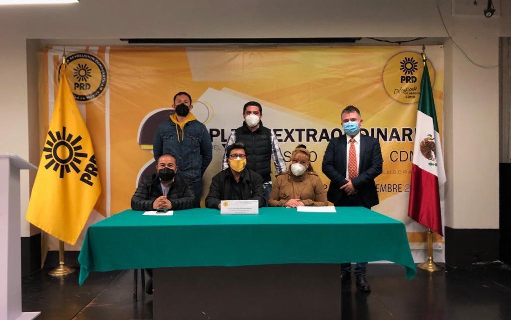 PRD-CDMX: Aprueba convocatoria y alianzas 2020-2021