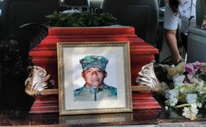 Sepultan cuerpo de marino desaparecido en 2018 en Oaxaca