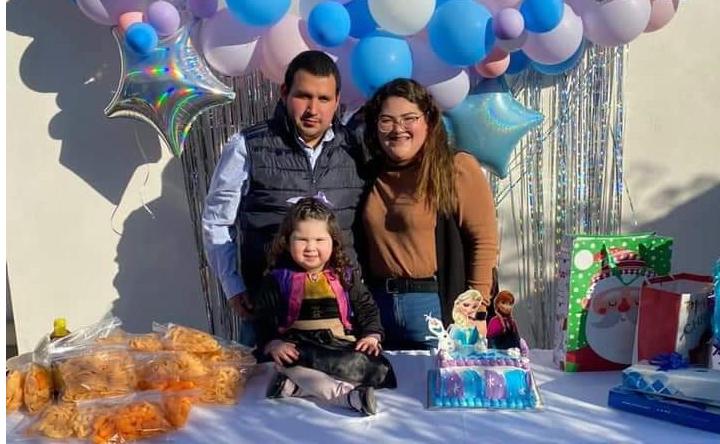 Ana Victoria celebra tres añitos