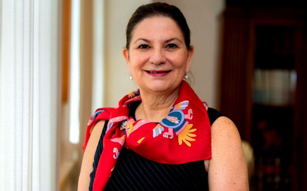 Martha Bárcena: Felicita a Esteban Moctezuma por designación