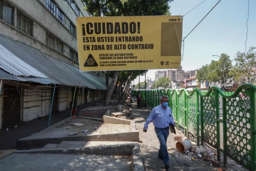 Refuerzan medidas sanitarias en Cetram Tacubaya