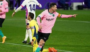 Barcelona gana al Valladolid