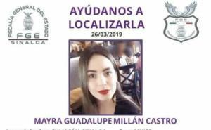 Localizan cuerpo de joven desaparecida en Sinaloa