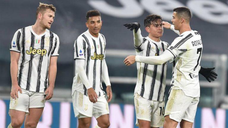 Juventus golea al Udinese por 4-1