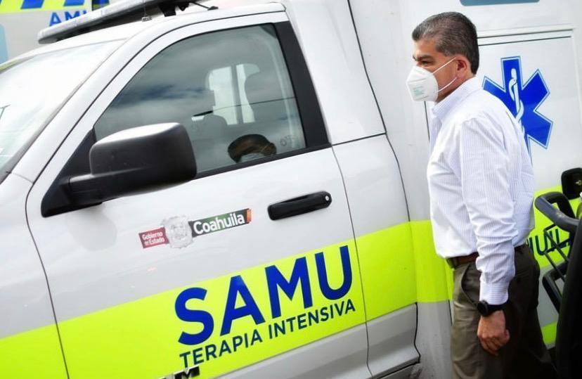 Sistema de saludfortalecido con17 ambulancias