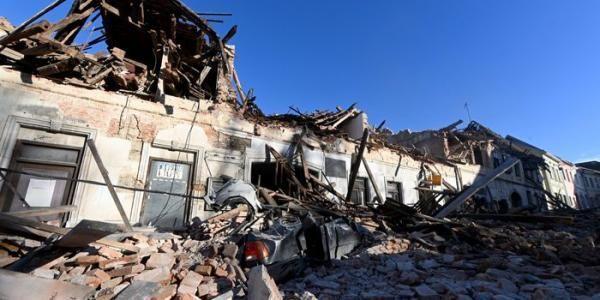 Croacia decreta estado de catástrofe en la zona golpeada por el terremoto